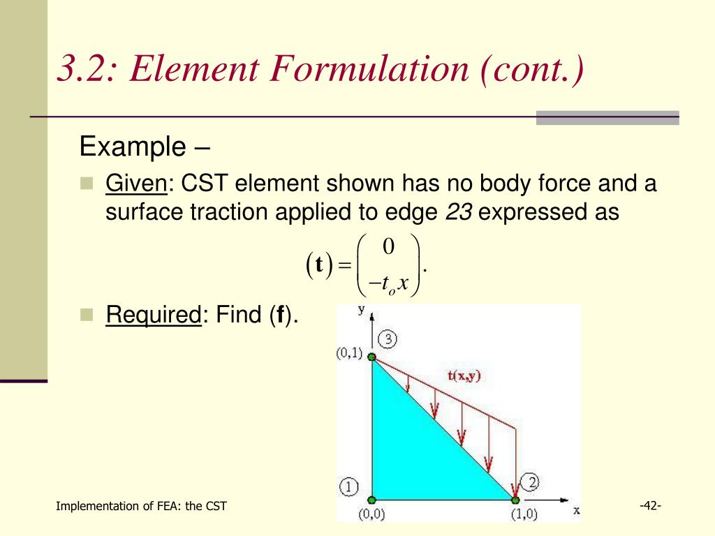 PPT - Section 3: Implementation of Finite Element Analysis