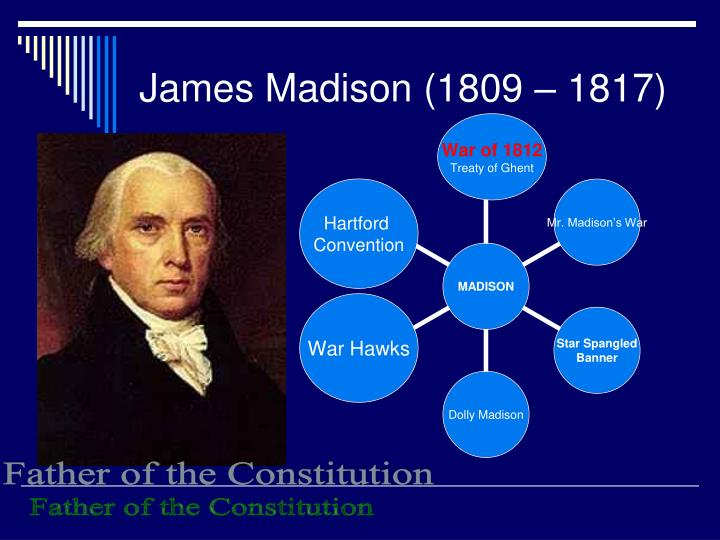 James Madison (1809 – 1817)