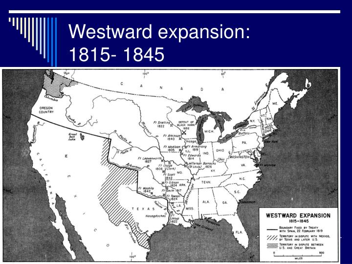 Westward expansion: