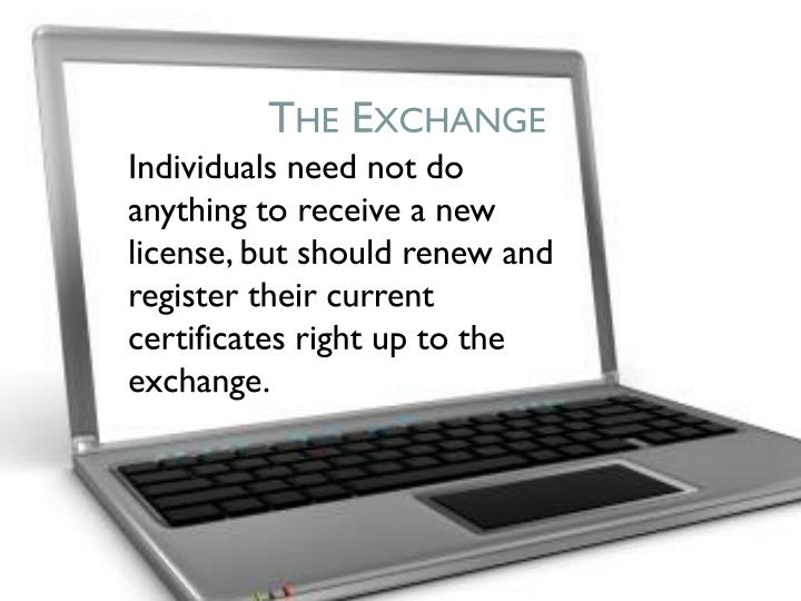 The exchange1