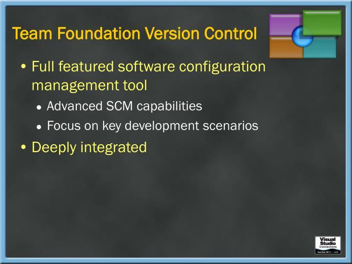 Team Foundation Version Control