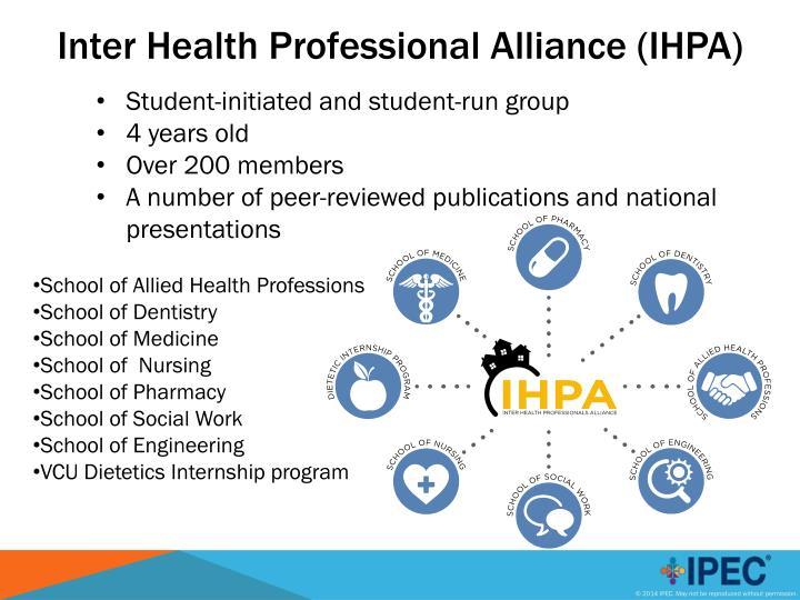 Inter Health Professional Alliance (IHPA)
