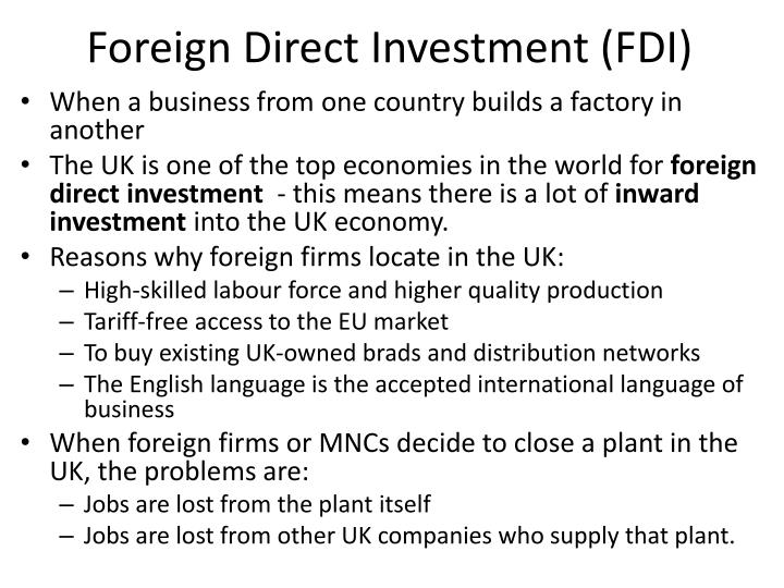 foreign direct investment and ireland s tiger economy The economy of ireland is a knowledge economy, focused on services into high-tech, life sciences and financial services industriesireland is an open economy (6th on the index of economic freedom), and ranks first for high-value foreign direct investment (fdi) flows.