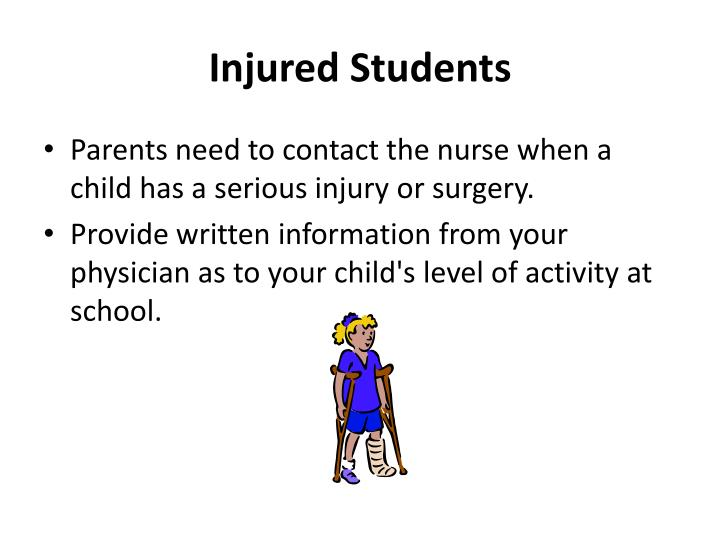 Injured Students