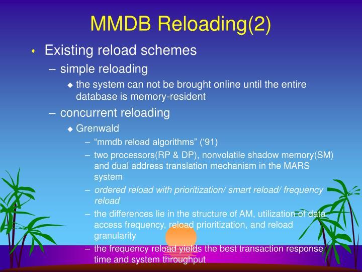 MMDB Reloading(2)