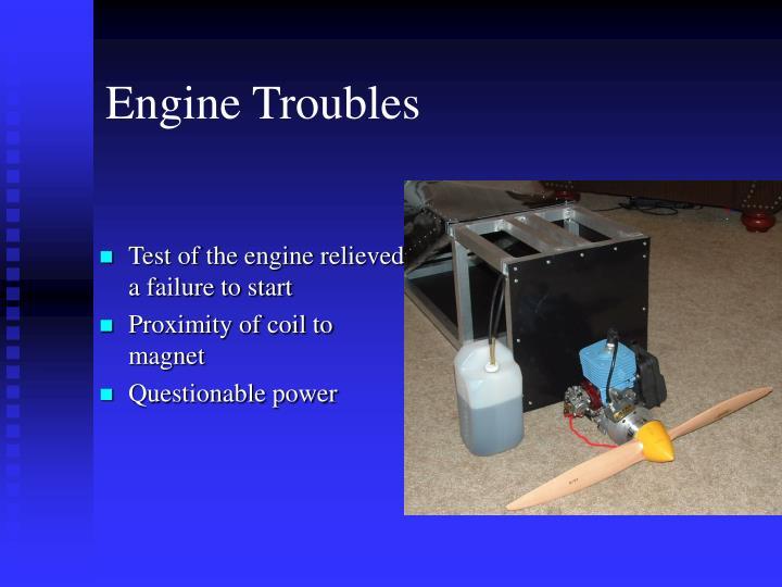 Engine Troubles