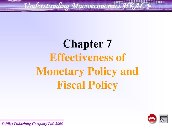 fiscal policy effectiveness Fiscal policy and the financial crisis  fiscal policy has short and long term functions 88% 21  capital flight inhibits effective resource mobilization in africa it manifests itself in two ways:  legal.