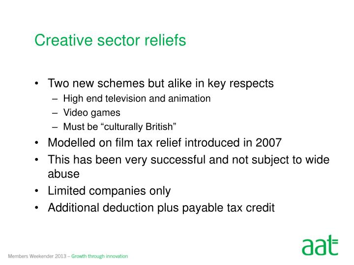Creative sector