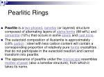 pearlitic rings