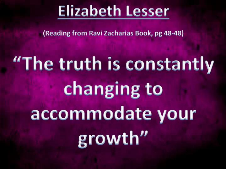 Elizabeth Lesser