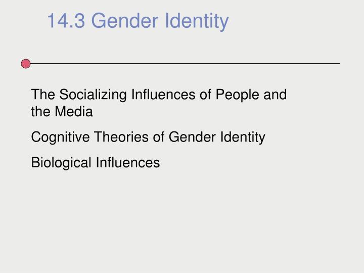 14.3 Gender Identity
