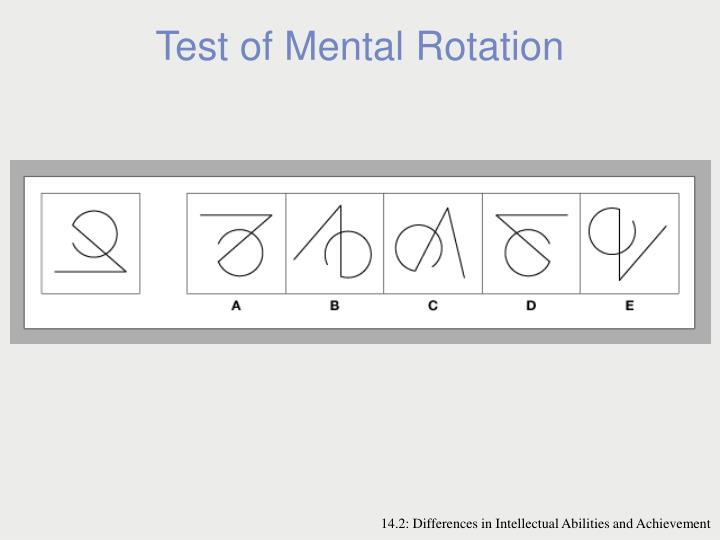Test of Mental Rotation