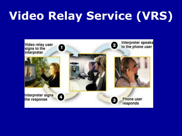Video Relay Service (VRS)