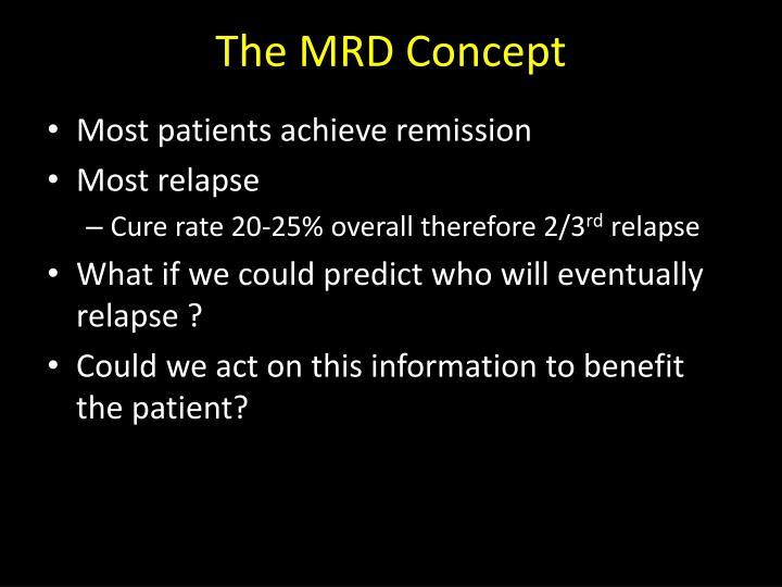 The mrd concept