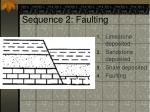 sequence 2 faulting