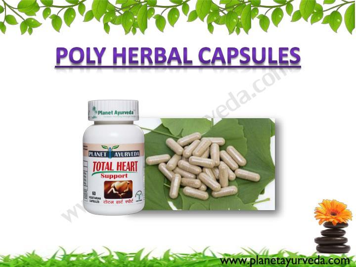 Poly Herbal Capsules