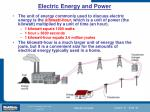 electric energy and power4