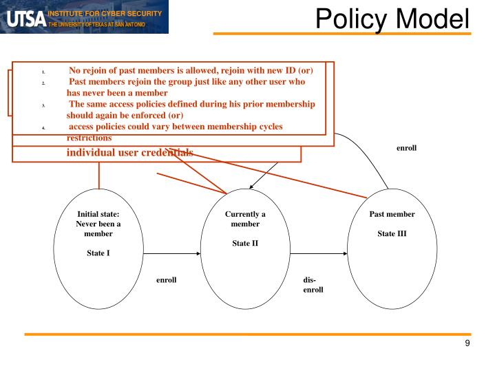 Policy Model