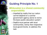 guiding principle no 1