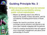 guiding principle no 2