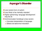 asperger s disorder