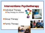interventions psychotherapy
