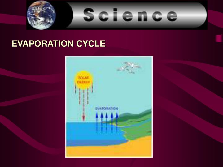 EVAPORATION CYCLE