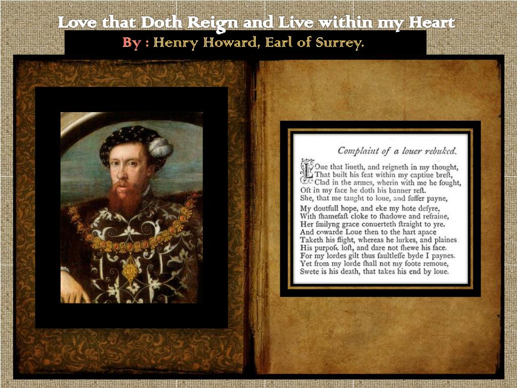 love that doth reign and live within my thought analysis