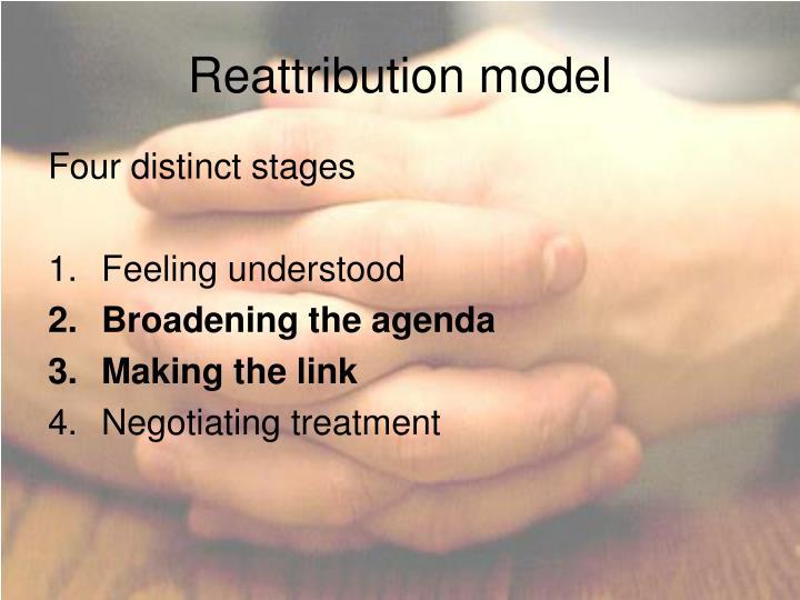 Reattribution model