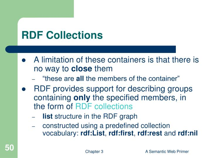 RDF Collections