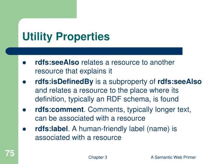 Utility Properties