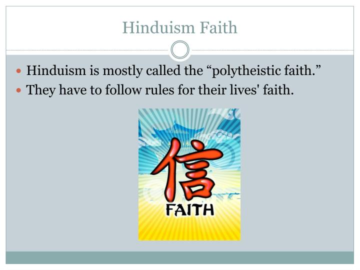 Hinduism Faith