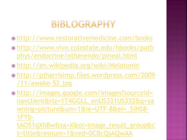 biblography