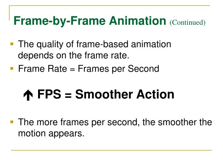PPT - 2.02B Methods and Uses of Animation PowerPoint Presentation ...