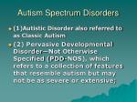 autism spectrum disorders3