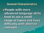 general characteristics4