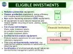 eligible investments