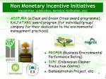 non monetary incentive initiatives recognition publication technical facilitation etc