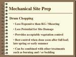 mechanical site prep1