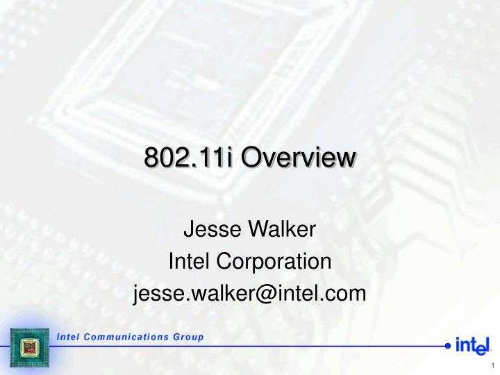 802 11i overview n.