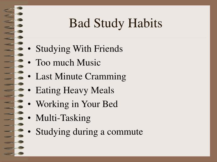 study habits theories Study habit, skill, and attitude inventories and constructs were found to rival standardized tests and previous grades as predictors of academic performance, yielding substantial incremental validity in predicting academic performance.