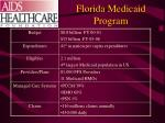 florida medicaid program