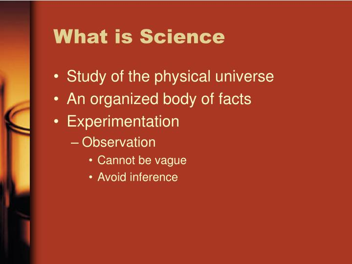ppt - what is science powerpoint presentation