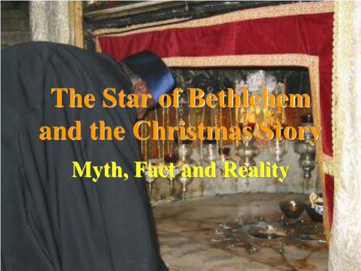 the star of bethlehem and the christmas story n.