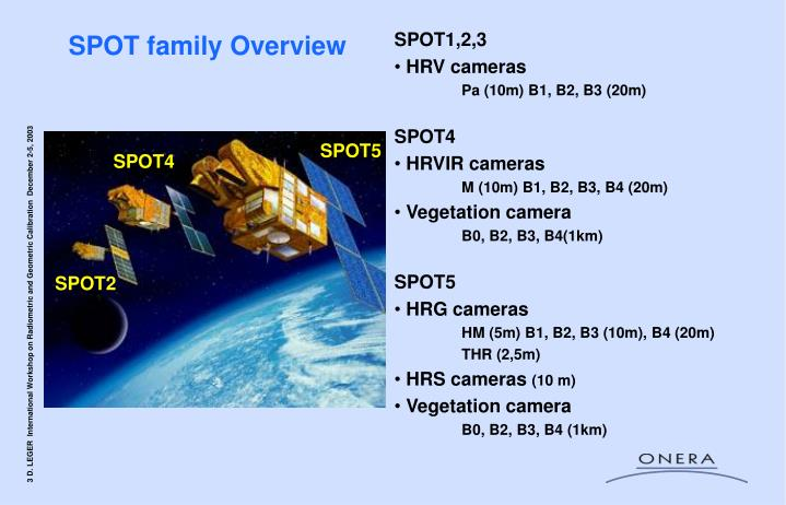 Spot family overview