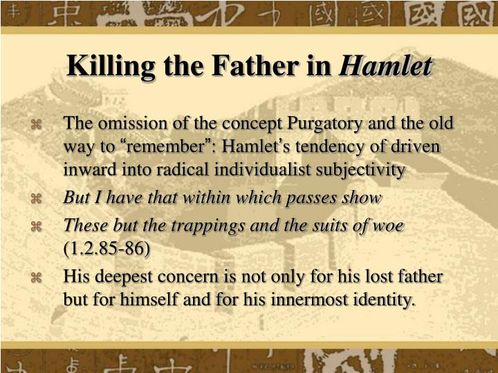 Killing the Father in