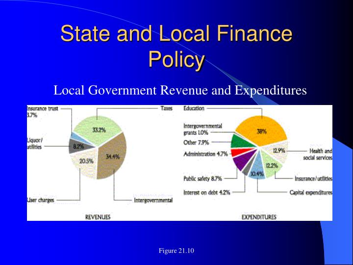 State and Local Finance Policy