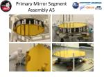 primary mirror segment assembly a5