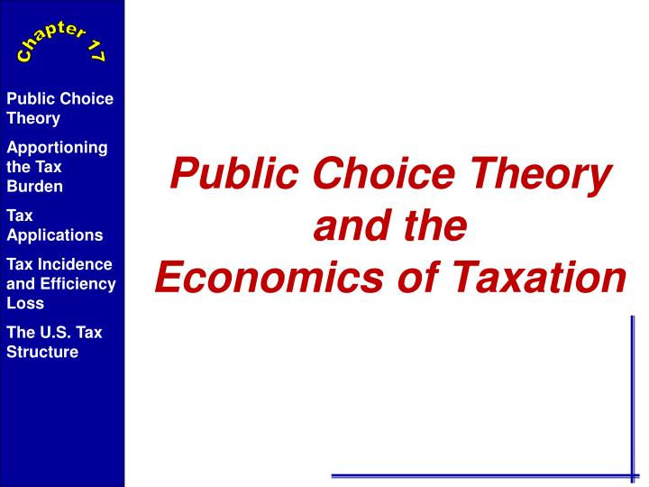 taxation in the u s essay It's an accounting degree accounting very viable career path since taxation has such an pervasive effect on business in the us work for the government in.