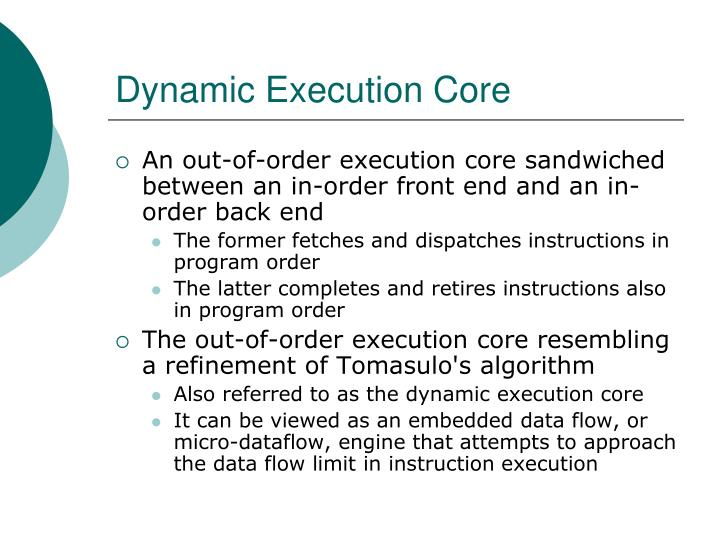 dynamic execution core n.